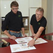 Vollholzküchenhersteller, Massivholzküchenhersteller  Jürgen und Uwe Pfister