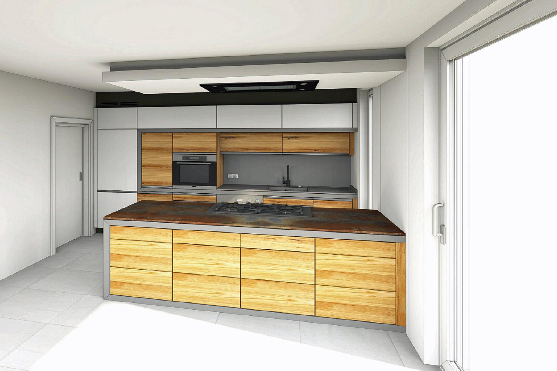 Küchen mit Glasfronten