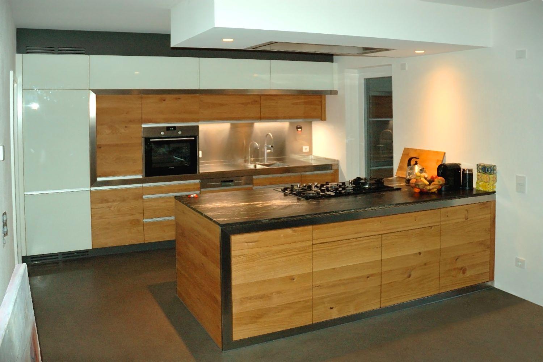 Architektur und Küche verschmelzen mit einander
