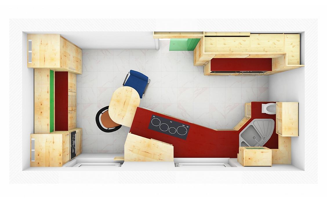Architektenküche