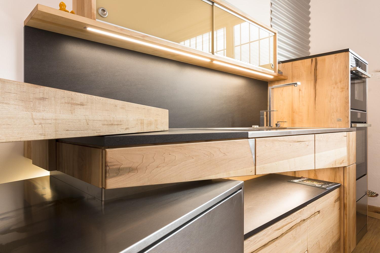 Küche, Architektur und Natur