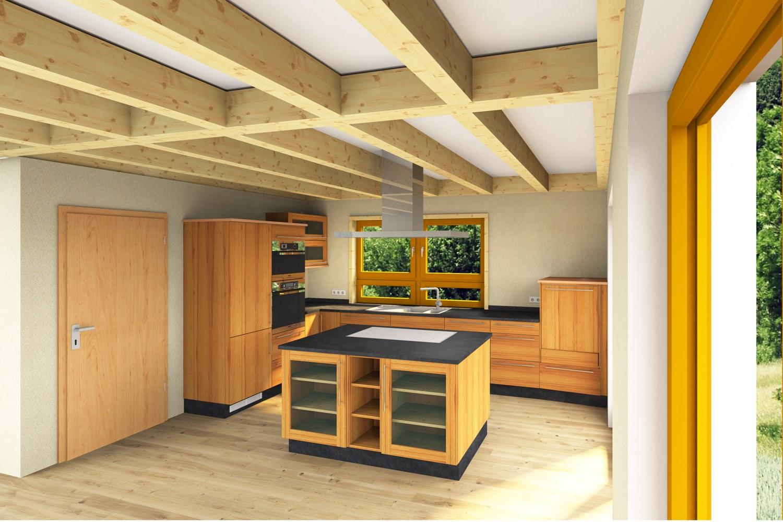 massivholzk che gebraucht. Black Bedroom Furniture Sets. Home Design Ideas