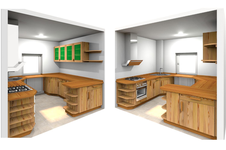 massivholzk che inneneinrichtung und m bel. Black Bedroom Furniture Sets. Home Design Ideas