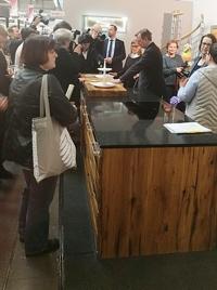 Pfisterküchen in Erfurt bewundert auch Minsiterpräsident Ramelow