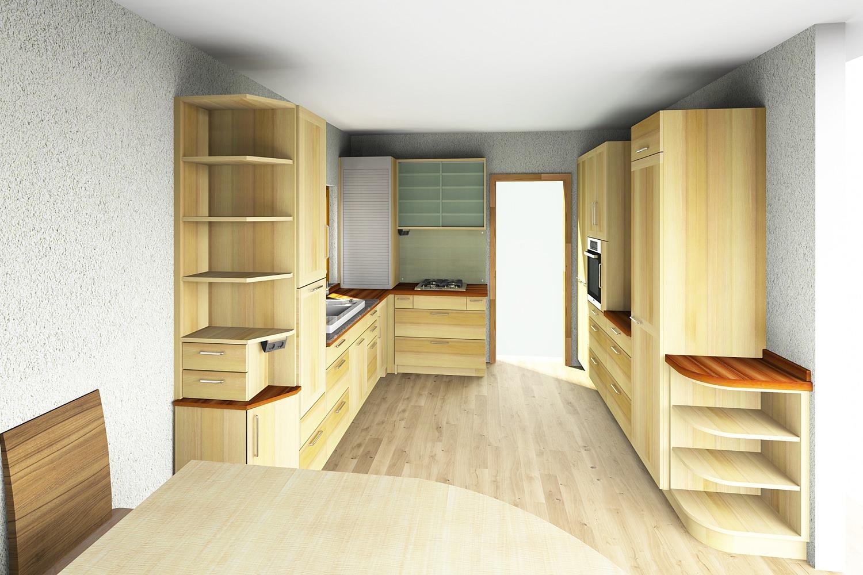 k chenplanung von der idee zur fertigen k che. Black Bedroom Furniture Sets. Home Design Ideas
