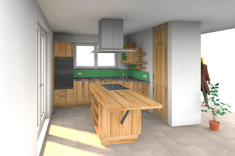 Kuchenplanung von der idee zur fertigen kuche for Massivholzküche