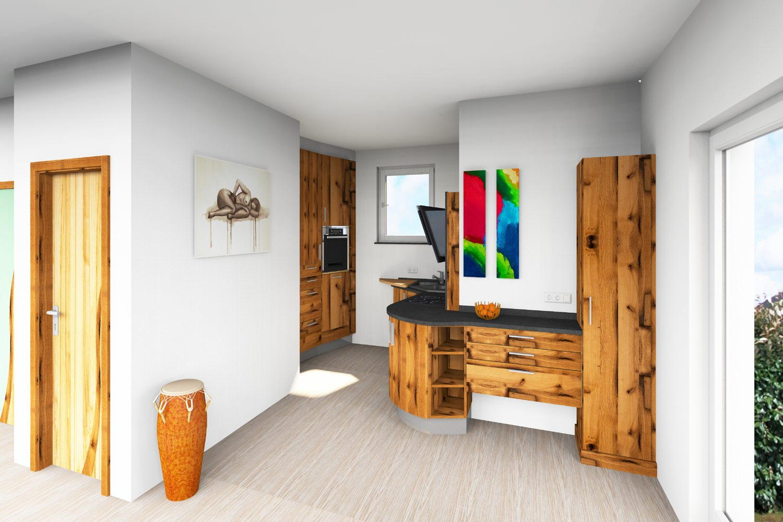 Geräumig Offene Küche Ideen Von Küche Esszimmer Und Wohnzimmer.