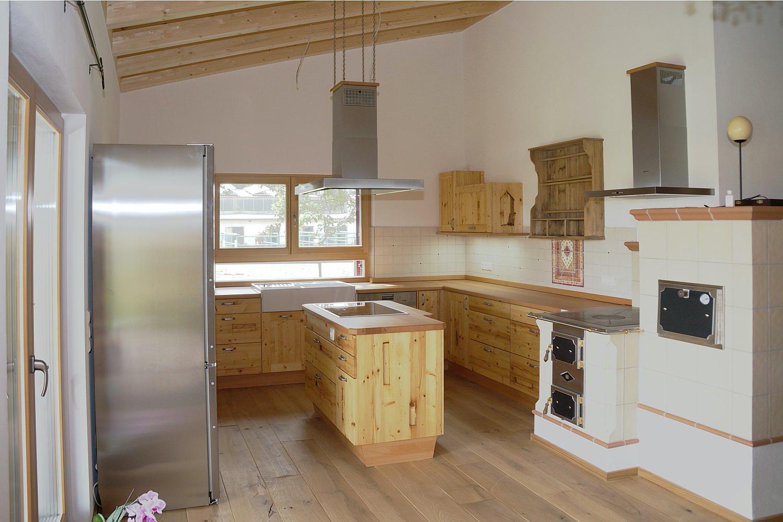 Altholzküche handwerklich gefertigt