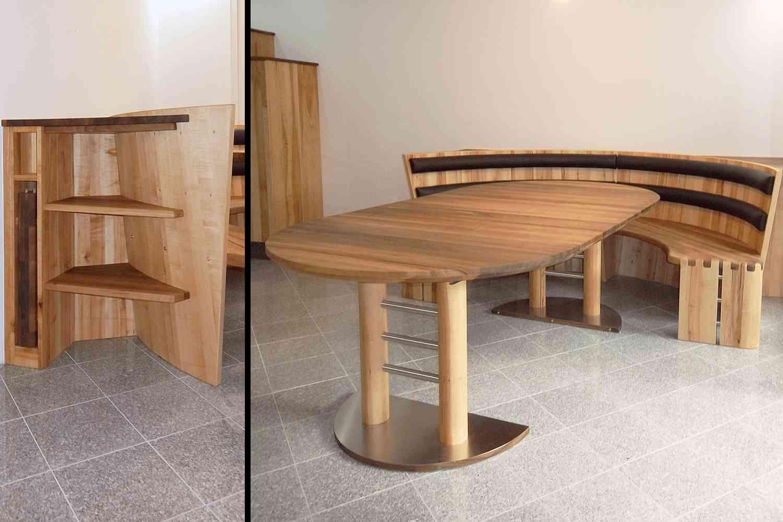 massivholzk chen hersteller vollholzk che runde k chen. Black Bedroom Furniture Sets. Home Design Ideas