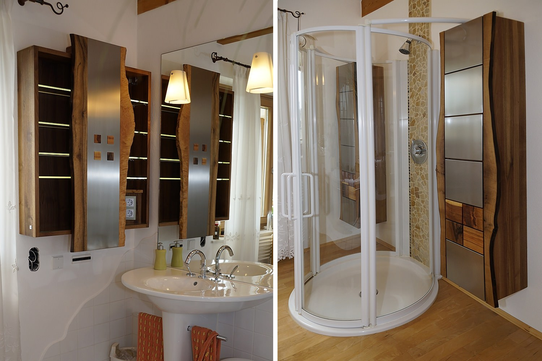 sch ne massivholz badm bel. Black Bedroom Furniture Sets. Home Design Ideas