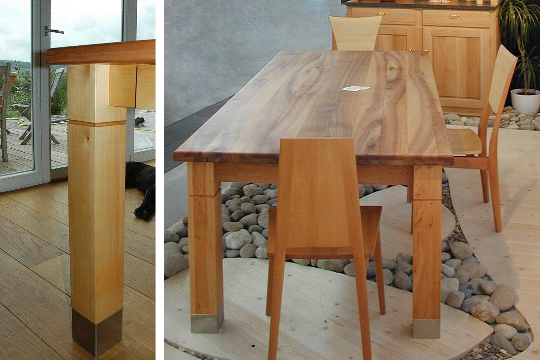 Massivholztisch Aus Nussbaum Pfister Möbelwerkstatt