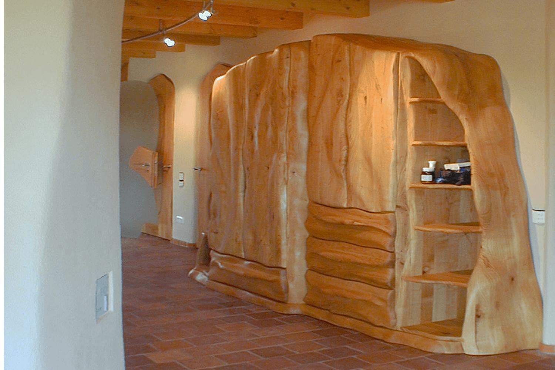 vollholzm bel unikat in kirschbaum. Black Bedroom Furniture Sets. Home Design Ideas