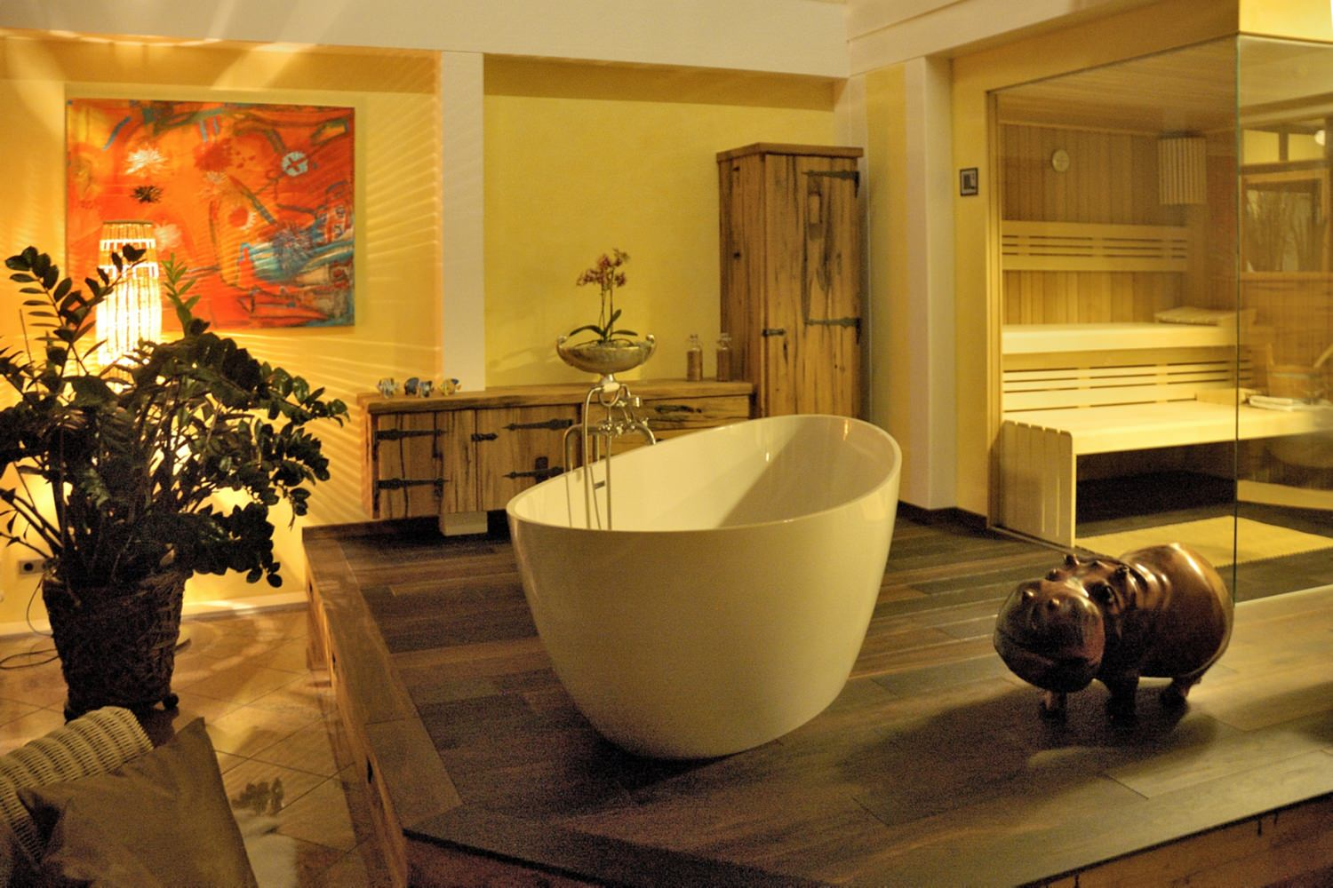 Wellness Badezimmer