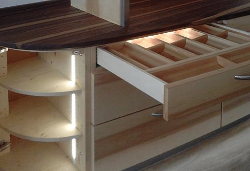 Schubladenbeleuchtung