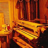 erste Maschinen für die Werkstatt im Wohnhaus