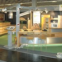 Pfister Möbelwerkstatt seit 2011 auch auf der internationalen Möbelmesse in Köln