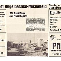 Der erste pressebericht über den tag der offenen Tür im Gewerbehof bei Pfister Möbelwerkstatt