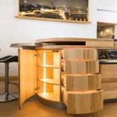 Runde küchen mit Innenbeleuchtung