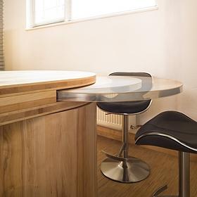 Kücheninovation versenkbarer Tisch